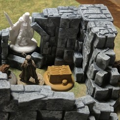 Descargar modelos 3D gratis Fantasy Wargame Terrain - Objetivos del marcador de pistas, Sablebadger