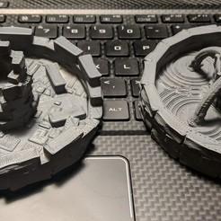 Imprimir en 3D gratis Fantasy Wargame Terrain - Fuentes, Sablebadger