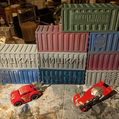 IMG_20180607_210207.jpg Download free STL file Gaslands -  Shipping Containers • 3D printer design, Sablebadger