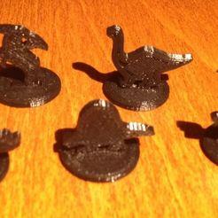 Descargar modelo 3D gratis Pequeñas piezas de juego de dinosaurios, Sablebadger