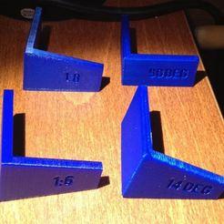 Impresiones 3D gratis Marcadores de cola de milano para carpintería, Sablebadger