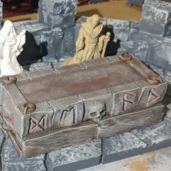 Descargar modelo 3D gratis Fantasy Wargame Terrain - Altar Nigromante, Sablebadger