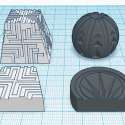 Download free STL Tak Game Pieces, Sablebadger