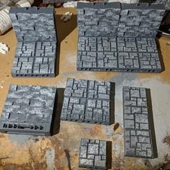 Descargar modelos 3D gratis Tilestone Modular Starter Set - OpenLOCK, Sablebadger
