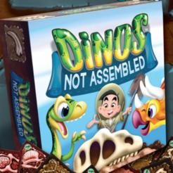 cover_art.png Télécharger fichier STL gratuit Dino Meeples de Dinos jeu non assemblé • Objet pour imprimante 3D, Sablebadger