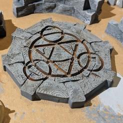 Descargar diseños 3D gratis Fantasy Wargame Terrain - Teletransporte/Círculos de invocación, Sablebadger