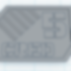 Télécharger fichier STL gratuit Jetons de crédit de jeu Sci Fi • Plan pour imprimante 3D, Sablebadger