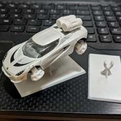 Download free 3D printer model Gaslands - Hover units and Jets with Stand, Sablebadger