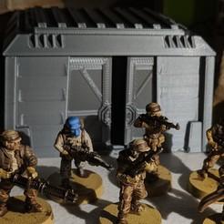 Impresiones 3D gratis Terreno de la Legión de Star Wars - Búnkeres Imperiales, Sablebadger