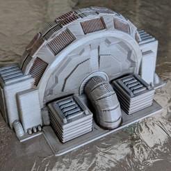 Descargar archivos 3D gratis Star Wars Legion Terrain - Generadores de energía, Sablebadger