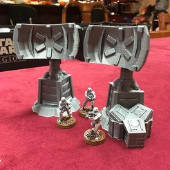 commtowerpreview.jpg Download free STL file Star Wars Legion Terrain - Comm Tower • 3D printer object, Sablebadger