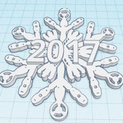 Download free 3D printer model Sonic Screwdriver Snowflake - Doctor Who, Sablebadger