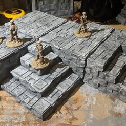 Descargar archivo 3D gratis Fantasy Wargame Terrain - Templo / Bloques de Dias, Sablebadger