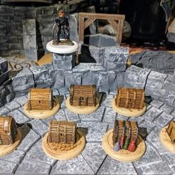 Descargar archivos 3D gratis Fantasy Wargame Terrain - Fichas del tesoro, Sablebadger