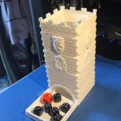 Descargar Modelos 3D para imprimir gratis Dice Tower - Castillo Modular, Sablebadger