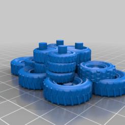 Download free 3D printer files Gaslands - Junk Pile Gate Markers, Sablebadger