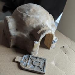 Impresiones 3D gratis Terreno de la Legión de Star Wars - Tatooine Hut, Sablebadger
