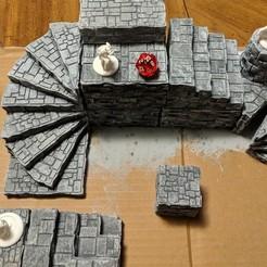 Descargar archivo 3D gratis Fantasy Wargame Terain - Apiladores Tilestone, Sablebadger