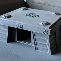 Descargar archivos 3D gratis Terreno de la Legión de Star Wars - Búnkeres Imperiales Endor, Sablebadger