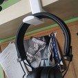 Download free STL files hanger for headphones, suitinglake47