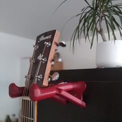 Télécharger plan imprimante 3D Cintre pour guitare, suitinglake47