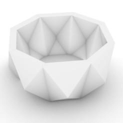 1.JPG Download STL file Bowl & Flower pot • 3D print model, mahdikhalafy