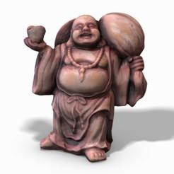 budda_01_wm.jpg Télécharger fichier STL Bouddha-Photoscanné • Objet pour imprimante 3D, TunnelVisionStudio