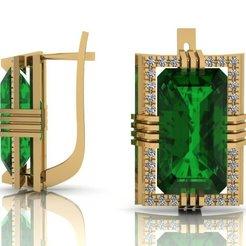 Télécharger fichier impression 3D Boucles d'oreilles bijoux modèle d'impression 3D, VGmod