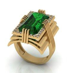 Télécharger fichier impression 3D Bague à bijoux modèle d'impression 3D, VGmod