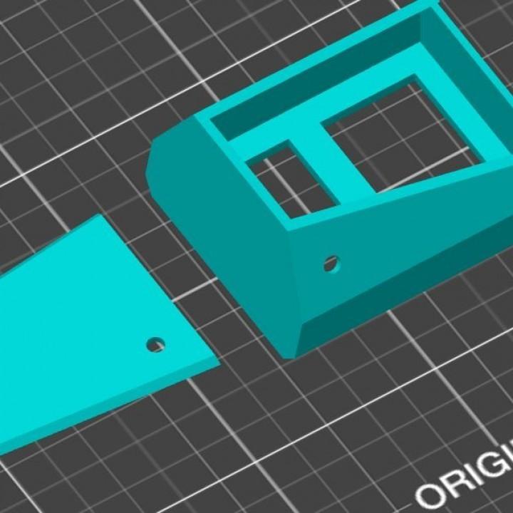 720X720-slic3r-1.jpg Download STL file Dual temperature display for 3D printer Ikea Lack enclosure. • Object to 3D print, MxLabDesigns
