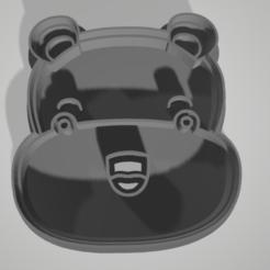 Download 3D printing designs Cortante Hipopótamo, elenajuarez32