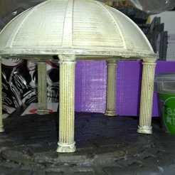 Download free STL file Temple Dome • 3D printer object, ZDeanzo
