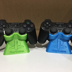 Download free 3D print files Playstation Duelshock Controller Stand (PS2), ZDeanzo