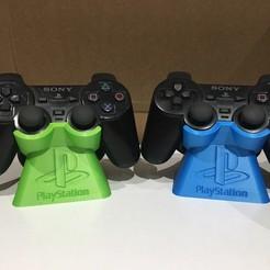 Descargar modelo 3D gratis Soporte de Controlador Playstation Duelshock (PS2), ZDeanzo