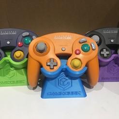 Impresiones 3D gratis Soporte de Controlador Gamecube, ZDeanzo