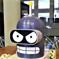 IMG_20200204_130827.jpg Download free STL file BAD ROBOT (BENDER) • 3D printer design, MijailMakaroff