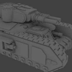 macharius.png Download STL file Mac Heavy Tank • Model to 3D print, adyarnold1975
