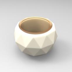 pot rond cactus R2.jpg Télécharger fichier STL Mini pot de fleur sphère design ideal pour les cactus • Plan imprimable en 3D, Vape