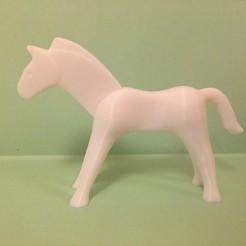 Descargar modelo 3D Caballo de juguete articulado, Vape