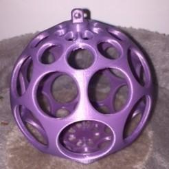 Descargar archivo 3D gratis Bola de Navidad Ref 02, Vape