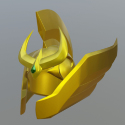 casco.png Download OBJ file Aries Helmet • Object to 3D print, monkey123