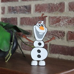 Download 3D model Olaf Decoration Stand, DG22