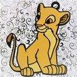 Télécharger fichier 3D Lot 4 ornements Roi Lion , DG22