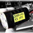 Télécharger STL gratuit 4S 18650 Batterie Li-Ion 4S 18650, VICLER