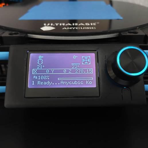 Télécharger STL gratuit Fysetc 12864 Montage sur panneau pour profil 20x20, VICLER