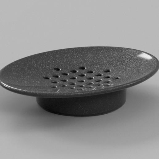 Soap_Dish_v6.jpg Download free STL file Soap Dish • 3D printing design, VICLER