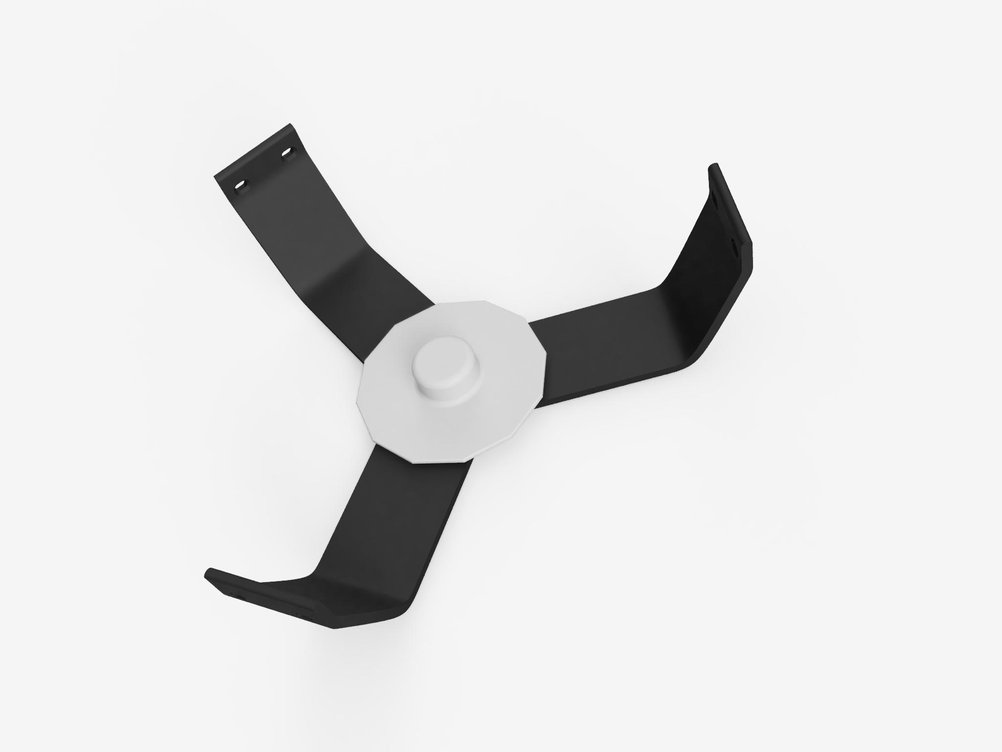 1.png Download free STL file Anycubic Kossel 608 Bearing Top Spool Holder • 3D printable model, VICLER
