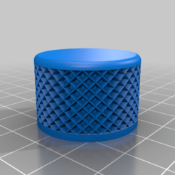 Knob_v2.png Download free STL file Anycubic Wash & Cure Mono Adapter • 3D printable design, VICLER