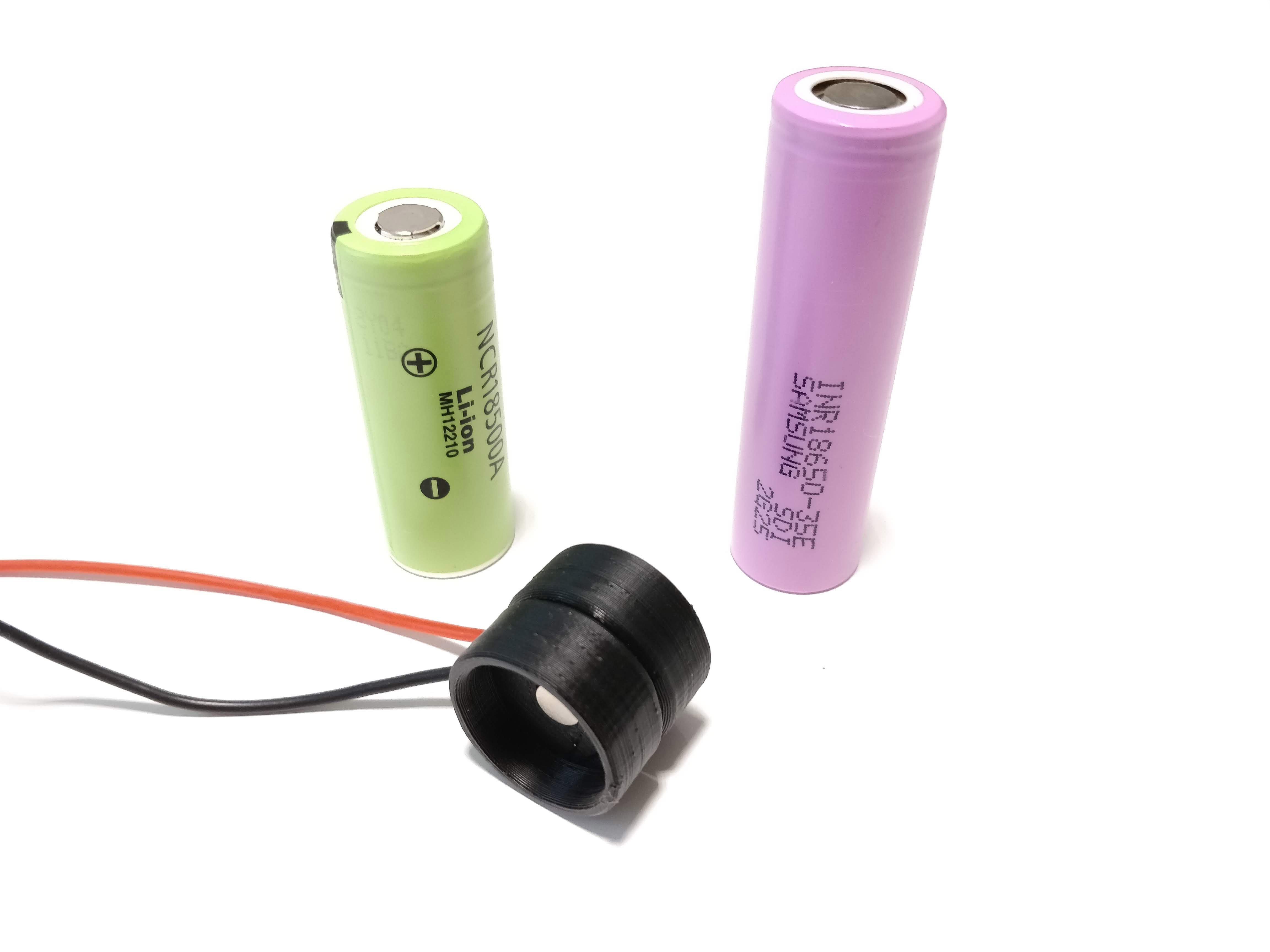 IMG_20190508_164413.jpg Download free STL file 18mm Li-ion Battery Magnetic Connector • 3D printer model, VICLER