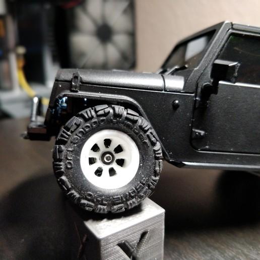 IMG_20181005_184357_Bokeh.jpg Download free STL file Orlandoo Hunter crawler wider rims • 3D printing model, VICLER